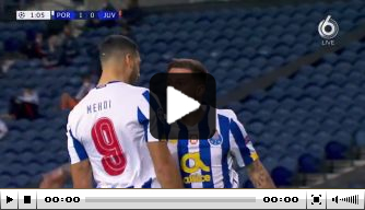 Video: enorme fout Bentancur wordt hard afgestraft door Porto