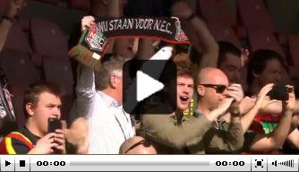 Kijk terug: eindelijk weer fans op de tribune in Nijmegen