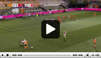 Video: Volendam scoort twee keer en wint in bizarre slotminuut