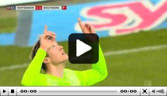 Video: Weghorst tekent koeltjes voor goal nummer 15