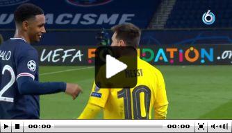Spelers Paris Saint-Germain willen allemaal shirtje van Messi