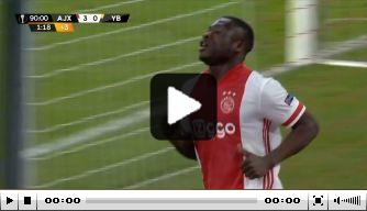 Kijk terug: Brobbey scoort in Europa weer als invaller bij Ajax