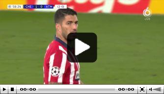Video: Suárez niet blij met wissel na weer doelpuntloze CL-avond