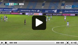 Video: Baas maakt heerlijke goal tegen De Graafschap
