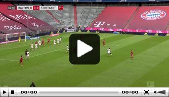 Bayern krijgt snelle rode kaart en scoort er vervolgens op los