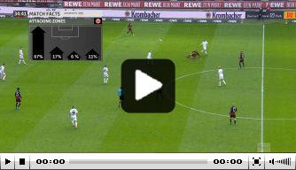 Video: Union-speler maakt opmerkelijke eigen goal in Bundesliga