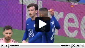 Video: Ziyech knalt raak en is weer belangrijk voor Chelsea