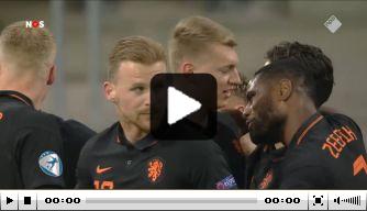 Perr Schuurs maakt eerste EK-doelpunt Jong Oranje