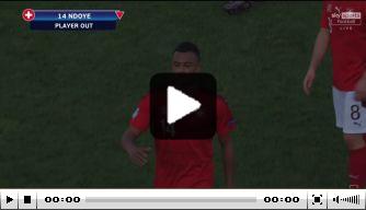 Video: Engeland O21 onderuit door gelukkige goal Ndoye