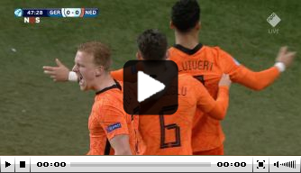 Jong Oranje profiteert van enorme blunder doelman Dahmen