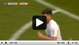 Video: Huntelaar maakt alsnog eerste goal sinds terugkeer