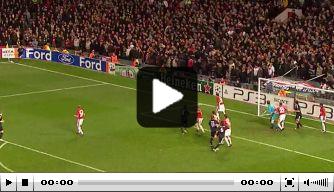 Video: Vandaag in 2010: wereldgoal van Robben op Old Trafford