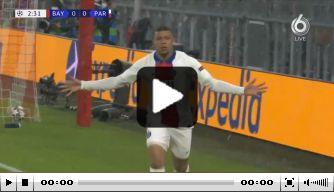 Mbappé bezorgt Paris Saint-Germain bliksemstart in München