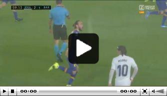 Video: Mingueza brengt Barça terug in de wedstrijd