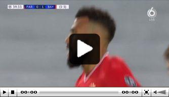 Video: Choupo-Moting kopt Bayern op voorsprong in Parijs
