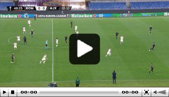 Brobbey zet Ajax vlak na rust op een 0-1 voorsprong