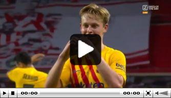 Video: Frenkie de Jong goud waard voor Barça in finale