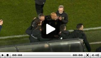 Video: SC Cambuur viert kampioensfeestje in AZ-stadion