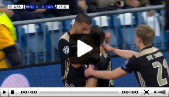 Video: Kan Ziyech Real Madrid twee jaar later opnieuw pijn doen?