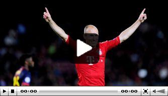 Vandaag in 2013: Robben scoort heerlijk in Camp Nou