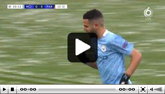 Video: Mahrez brengt Man City dichterbij eerste CL-finale ooit