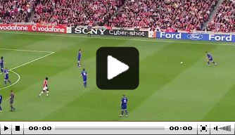 Vandaag in 2009: Ronaldo imponeert in Champions League