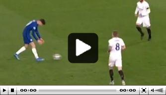 Video: Havertz fopt Real-verdedigers op heerlijke wijze