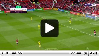 Video: Cavani maakt heerlijke goal voor United tegen Fulham