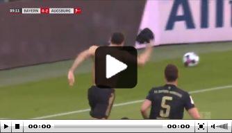 Video: Dit is de recordgoal van Robert Lewandowski