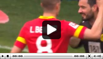 Prachtig moment: Bürki laat penalty Bender expres door