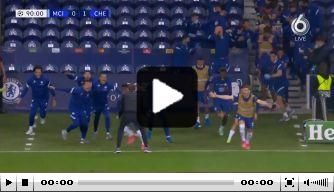 Video: prachtige ontlading bij Chelsea na CL-winst