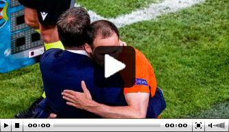 Video: respect voor interview Blind na winst Oranje