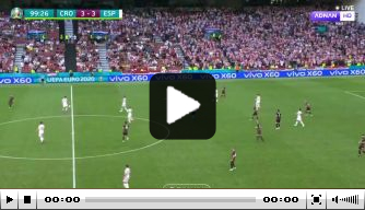 Video: ultieme revanche Morata in krankzinnige wedstrijd