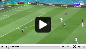 Video: Seferovic knikt Zwitsers op voorsprong tegen Frankrijk