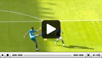Video: Blamage voor Arsenal na megablunder van jonge doelman