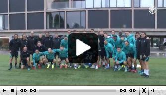 Prachtig: Eriksen voor het eerst terug op trainingscomplex Inter