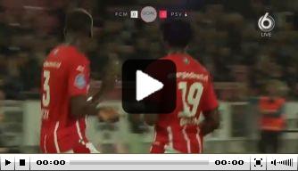 Video: Bruma zet zich met knappe goal voor PSV in de etalage