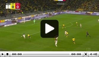 Video: Lewandowski zet Bayern met geweldige kopbal op voorsprong