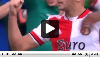 Prachtige goal Linssen: heeft Feyenoord wel een spits nodig?