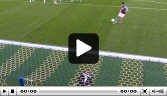 Video: heerlijke Panenka El Ghazi in de League Cup
