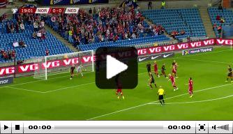 Oranje kent valse start in Oslo: Haaland maakt de 1-0