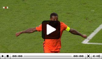 Berghuis geeft de assist, Wijnaldum drukt af: Oranje op 3-0