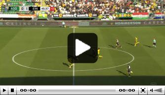 Video: héérlijke voetbalbeweging en dito goal van ADO-aanvaller