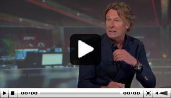 """Kraaij genoot van Oranje: """"Kwijl liep uit de mond"""""""