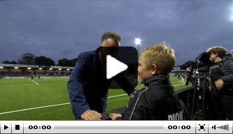 Video: Van Gaal being Van Gaal: jonge fan moet zich 'ontwikkelen'