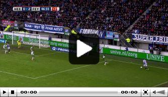 Pijnlijke video voor Van Beek: al zijn eigen goals op rij