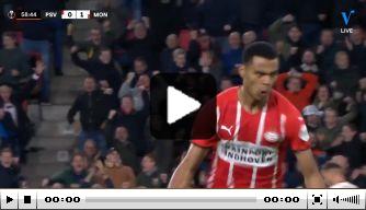 Video: fraaie goal Gakpo na onbedoelde assist Vincíus