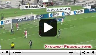 Video: Ajax laat onderuit tegen Palmeiras