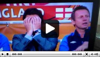 Video van de dag: Capello slaat assistent Pearce