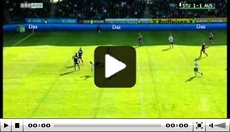 Video: oud-Ajacied scoort fraai voor Sturm Graz